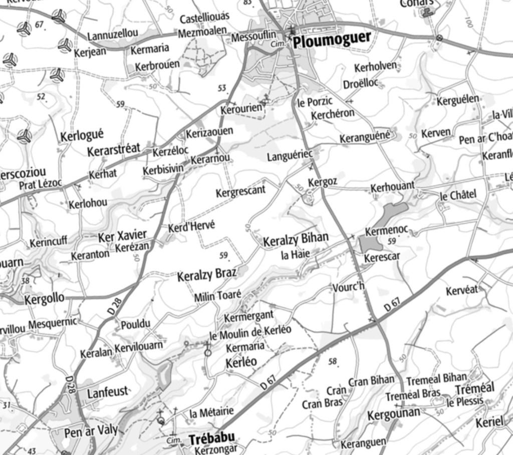Ploumoguer - Kerarnou au sud-ouest