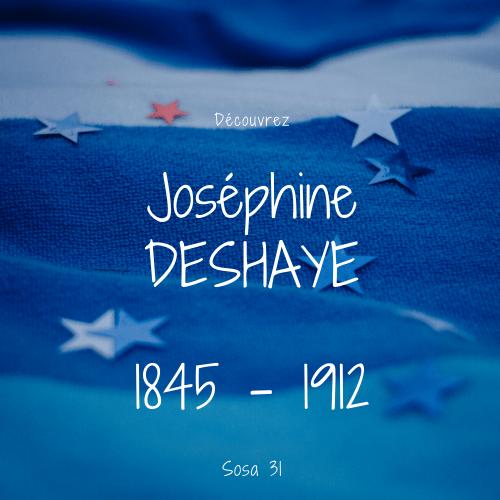 Joséphine DESHAYE sosa 31
