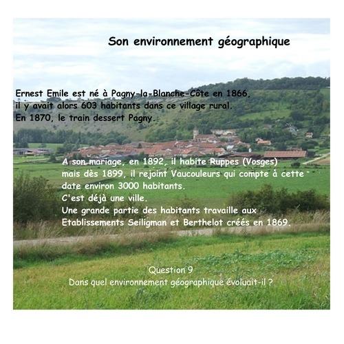 HARROY Ernest Emile géographie
