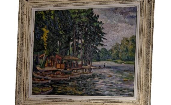 Embarcadère Bois de Boulogne 1942