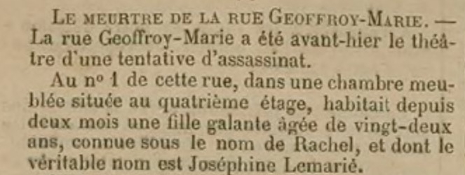 Affaire STEMBERT 1887