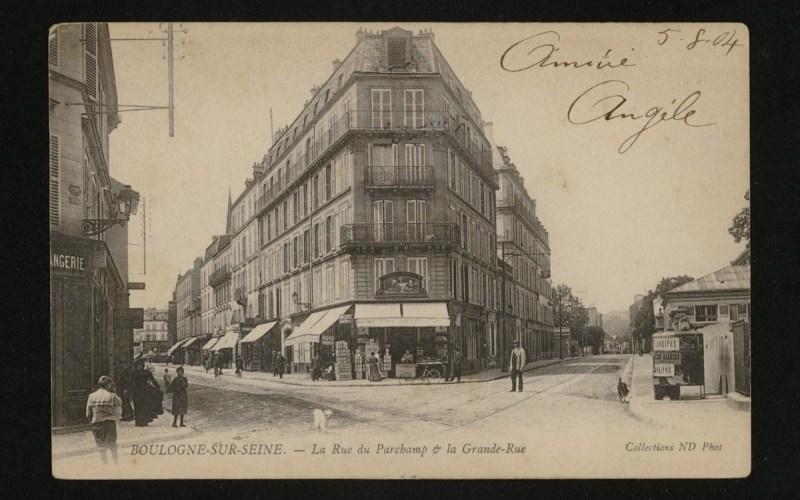 boulogne-billancourt rue parchamp
