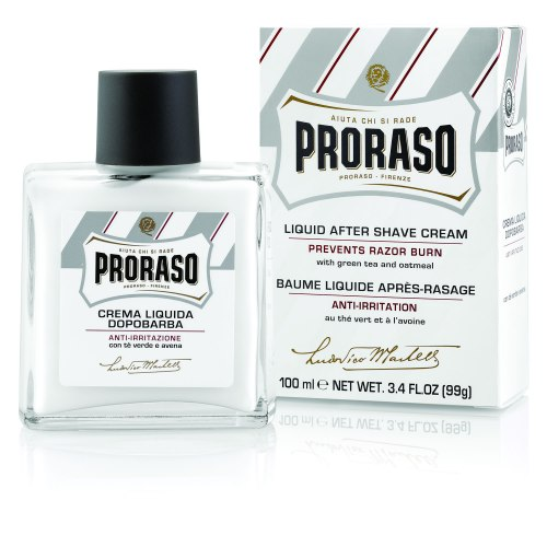 proraso aftershave green tea oat