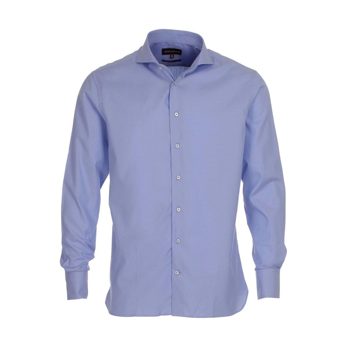 Sumisura Maine Lyseblå Skjorte
