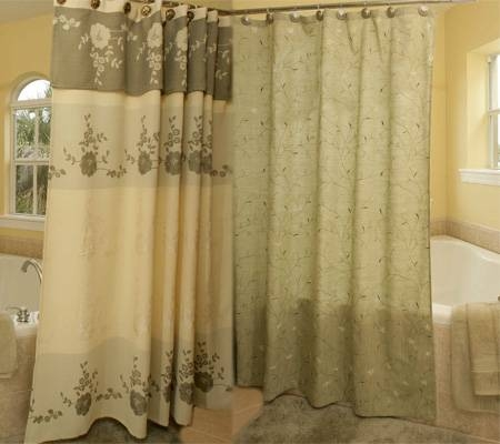 How To Clean A Fabric Shower Curtain EHow