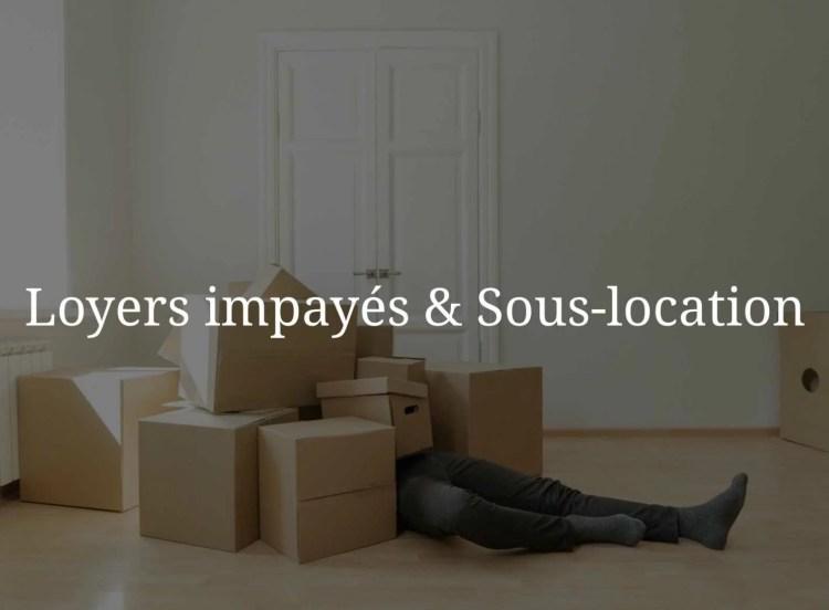 Déménagement suite au paiement de loyers impayés.