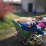Bastien, 5 ans et Lili-Rose