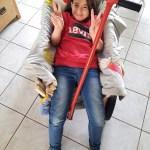 Lisa, 8 ans