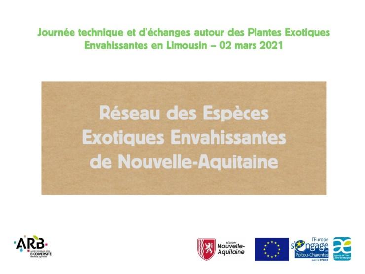 Réseau des Espèces Exotiques Envahissantes de Nouvelle-Aquitaine