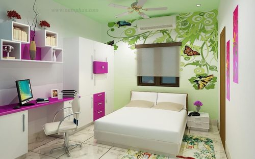 Kids Bedroom With Study Table Images Kids Bedroom With