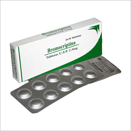 Bromocriptine Tablets Grade: Medical Grade, Price Range 550.00 - 650.00  INR/Box | ID: c3132953