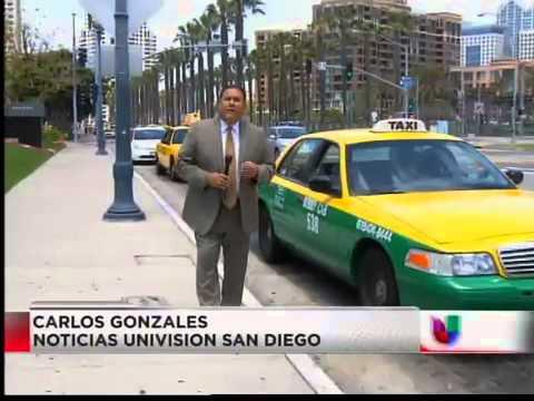 Fallas en sistema de Taxistas en San Diego (Univision)