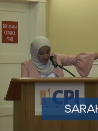Sarah Farouq spoken word at SEJ 2017 graduation