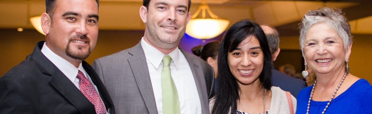 San Diego Leaders, Residents, and Network Mentors meet at the Center on Policy Initiatives Gala