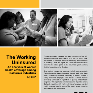 The Working Uninsured, Part 1 (2007)