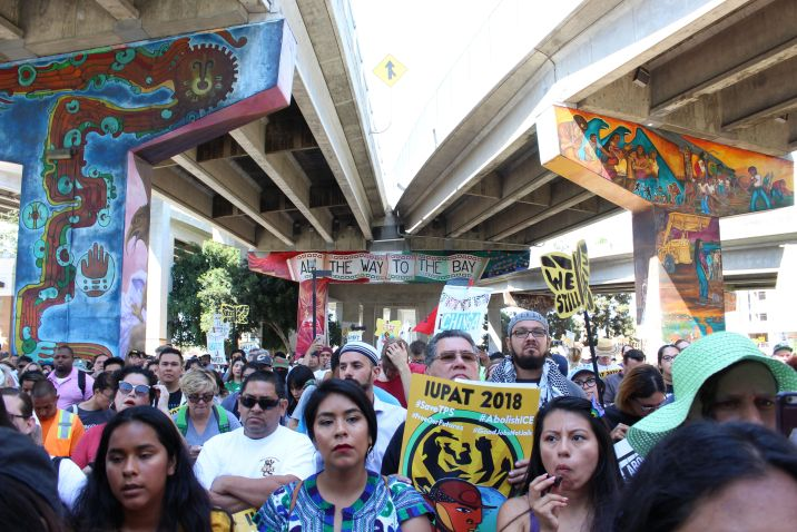San Diegans gather in Chicano Park