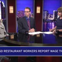 San Diego County Restaurant Workers Report Wage Theft