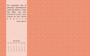 Calendario desktop scaricabile – Novembre