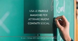 Come usare le parole chiave per migliorare la visibilità sui social network