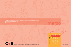 Calendario desktop scaricabile Marzo 2015