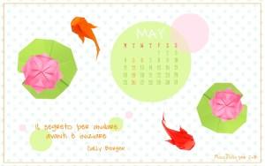 Calendario desktop scaricabile Maggio 2015