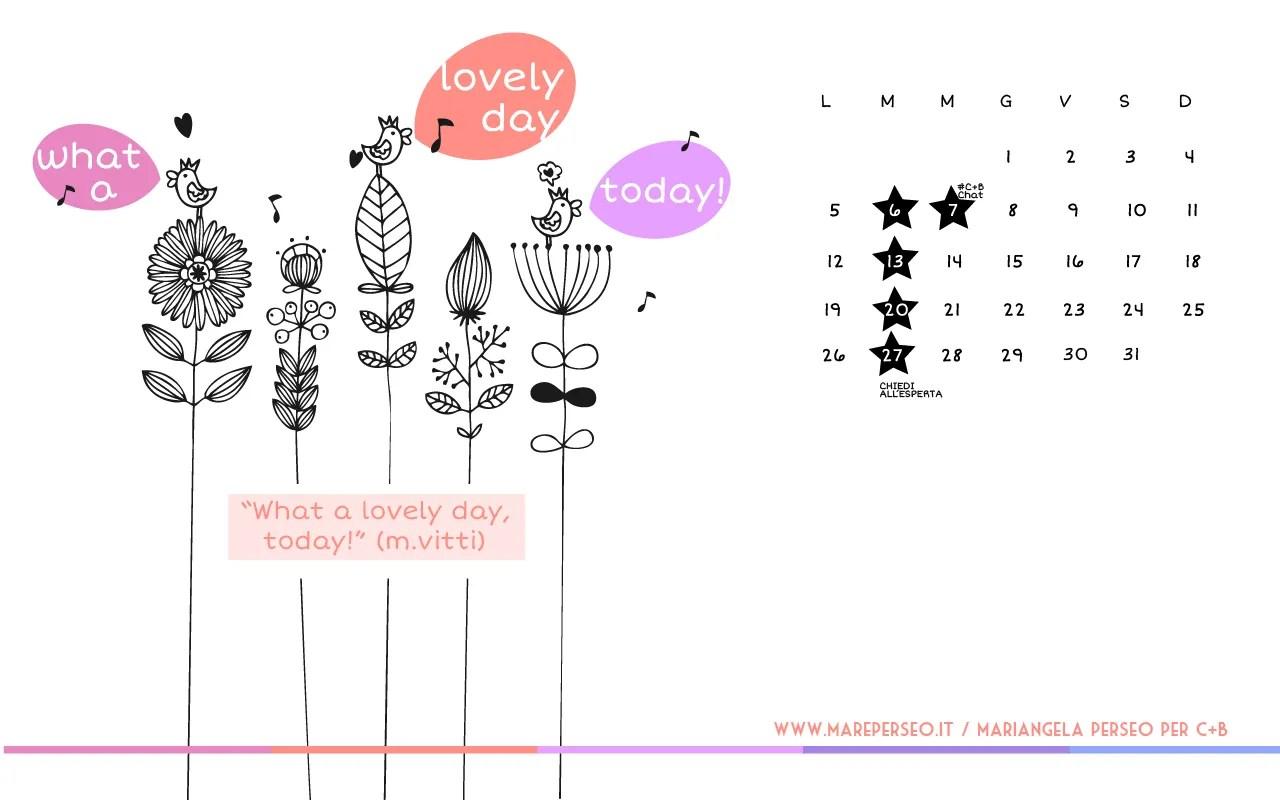 Mariangela Perseo - Calendario Desktop Ottobre 2015 - 1280x800