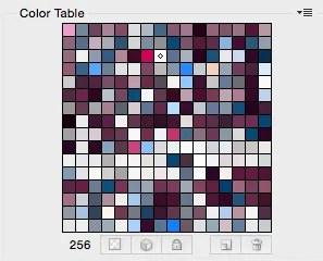 """Tavola colori """"index"""""""
