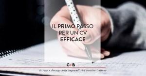 Il Curriculum Vitae della freelance: cambia prospettiva