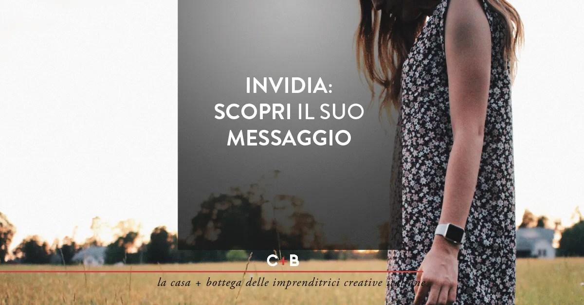Invidia: scopri il suo messaggio