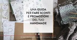 Come fare gli sconti per i prodotti handmade