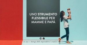 Uno strumento flessibile per mamme e papà