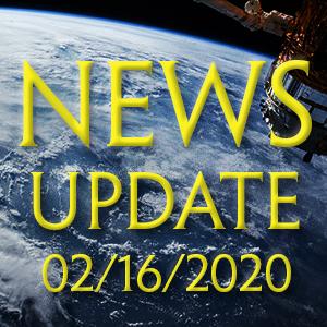 News Update 2/16/2020