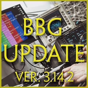 BBG Update 3.14.x