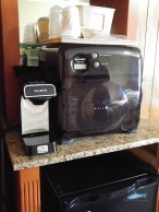 coffee pot and Microwave