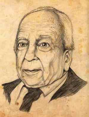 Hans Georg Gadamer by Oto Vega Ponce via wikicommons
