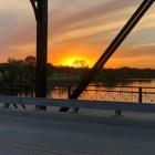 Sunset from Waco Bridge