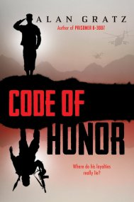 Code of Honor by Alan Gratz When Iranian-American Kamran Smith learns that his big brother, Darius, has been labelled a terrorist, he sets out to piece together the codes and clues that will save his brother's life and his country from a deadly terrorist attack. Find it here