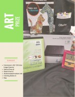 Contents • Canonscan LiDE 120 Color Image Scanner • Sakura Pens x8 • Sketch Pad x2 • Alcohol-based markers (40) • Coloring Books x2 • Bag