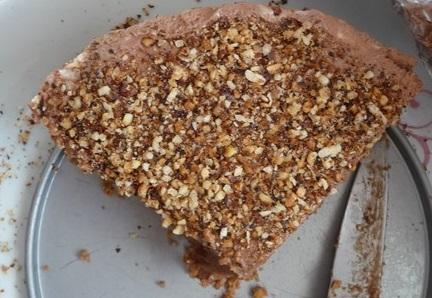Le cheese-cake au Nutella, les gourmandes se reconnaîtront!