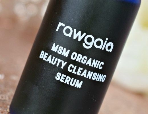 MSM Organic Beauty Cleansing Serum de Raw Gaia - Mon Petit Quelque Chose