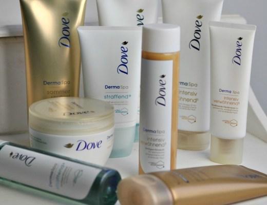 Dove et sa gamme DermaSpa - Mon Petit Quelque Chose