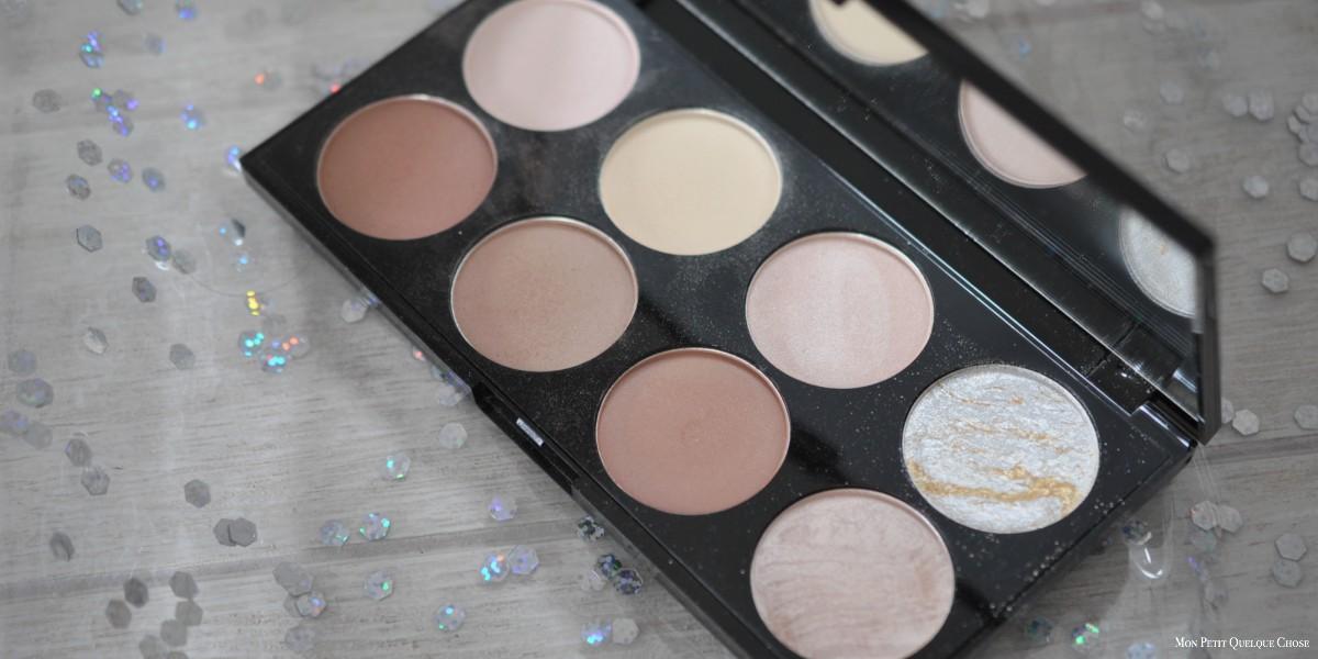 Ultra Contour Palette de Makeup Revolution : au complet?