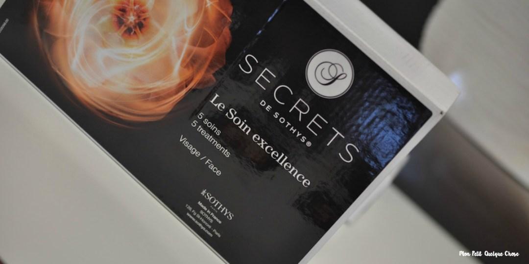 Sothys et son Soin Excellence Secrets - Mon Petit Quelque Chose