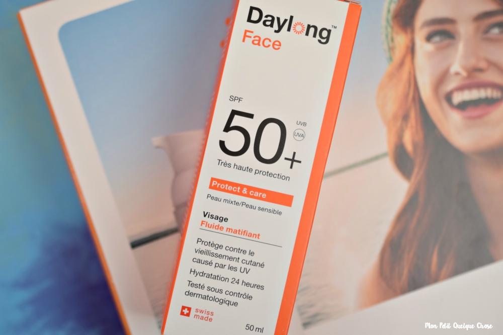 Le Fluide Matifiant SPF 50 de Daylong + un Concours! - Mon Petit Quelque Chose