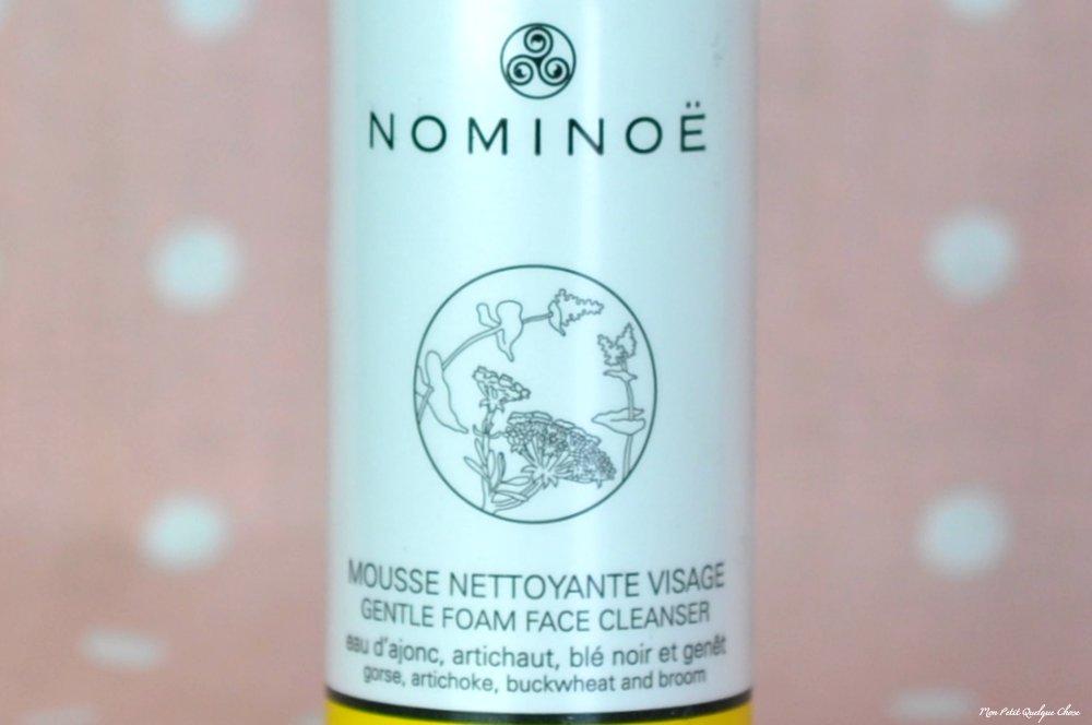 Nominoë et sa Mousse Nettoyante Visage - Mon Petit Quelque Chose