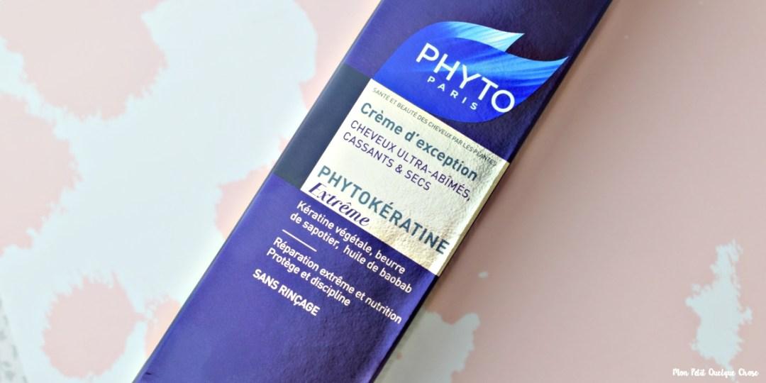 Phyto et sa Crème d'Exception Phytokératine Extrême - Mon Petit Quelque Chose