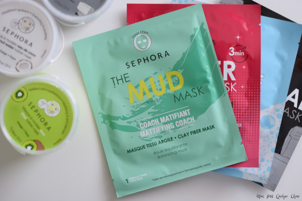 Les Sheet Mask qui changent de Sephora Collection - Mon Petit Quelque Chose