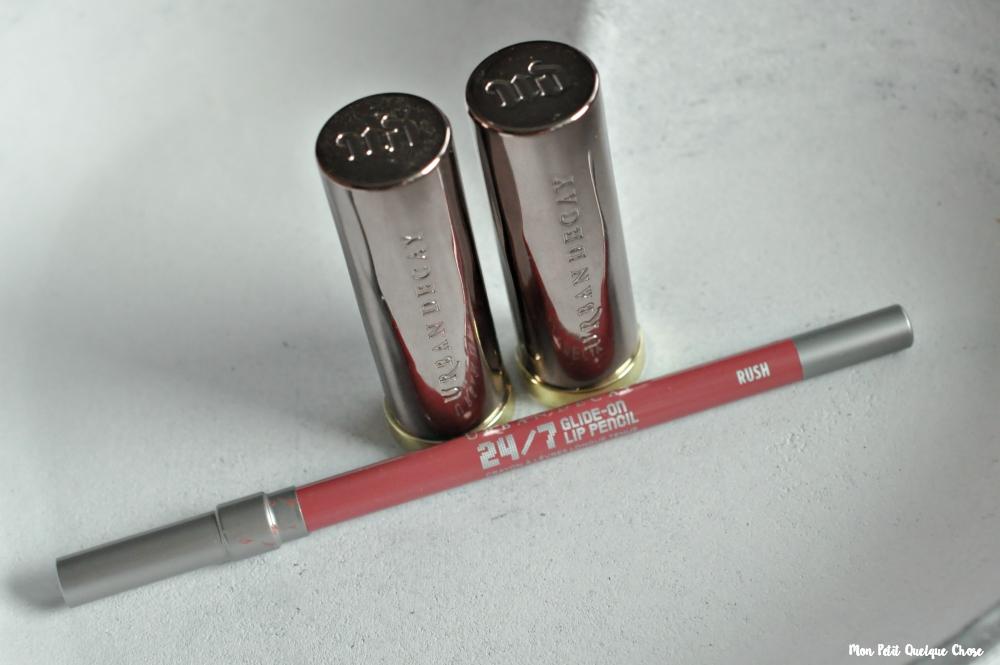 Mes Vice Lipsticks d'Urban Decay : Sheer Liar et Backtalk - Mon Petit Quelque Chose