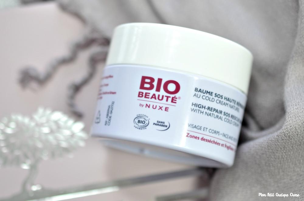 Le Baume SOS Haute Réparation Peaux Sensibles de Bio-Beauté by Nuxe - Mon Petit Quelque Chose
