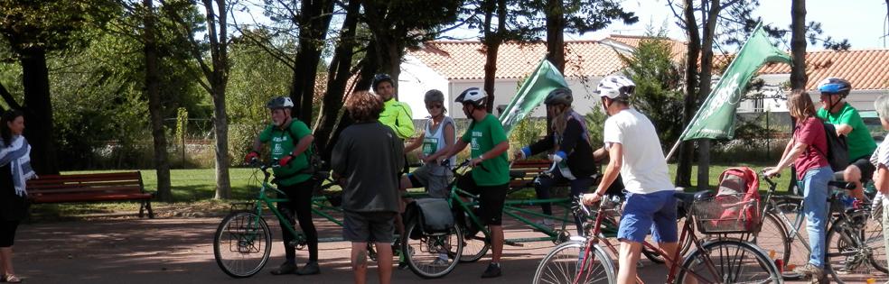 Tour Alternatiba fait étape à Saint-Hilaire-de-Riez